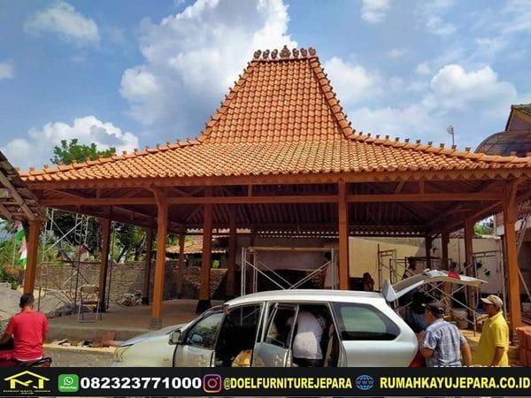 Rumah Pendopo Kayu Jati