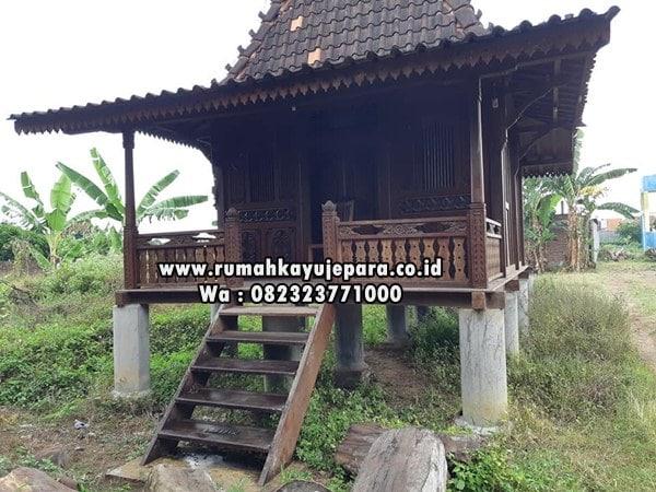 rumah klasik kayu jati