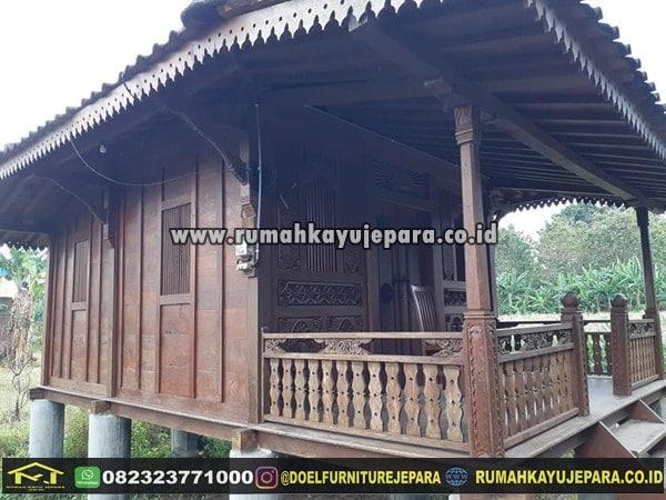Rumah Klasik Kayu Jati Jogja