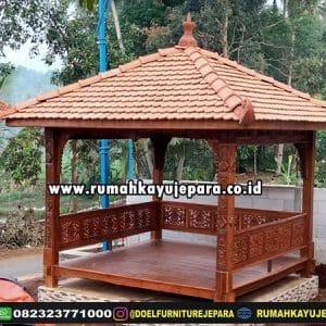 Gazebo Taman Ukir Jepara