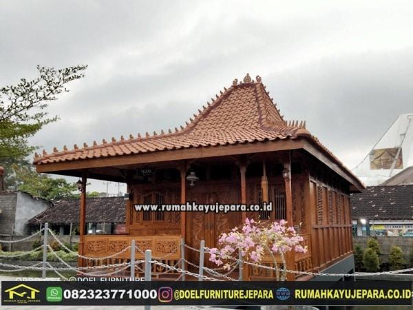 rumah kayu ukir jepara