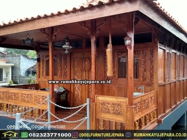 rumah kayu jati jepara