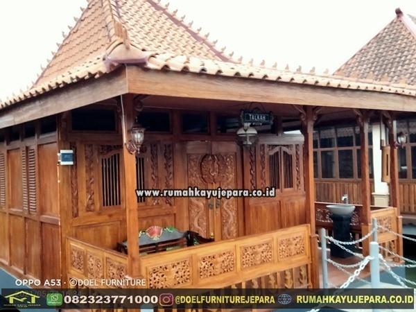 Jual Rumah Kayu Jati Jepara