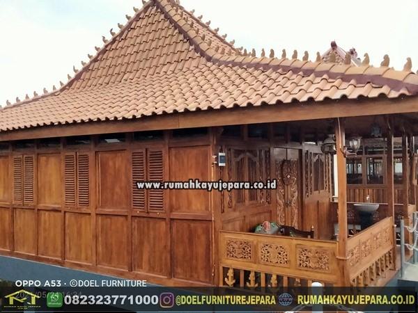 pengrajin rumah kayu jepara