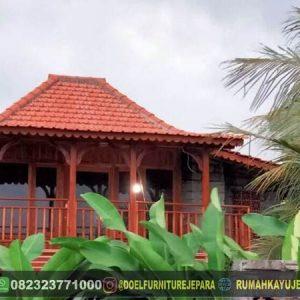 rumah kayu jati wonogiri