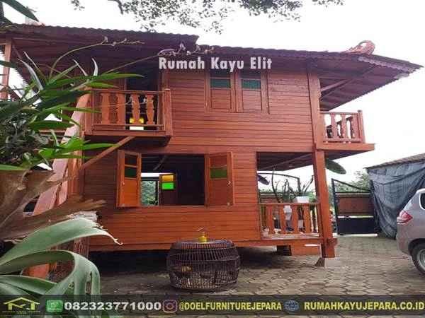 rumah kayu elit